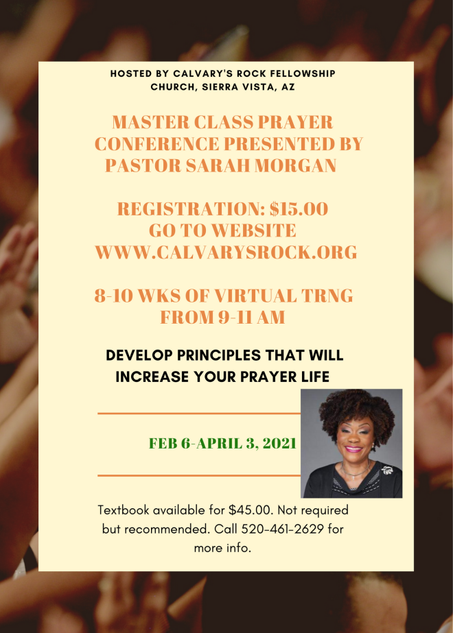 Masters Prayer Conference